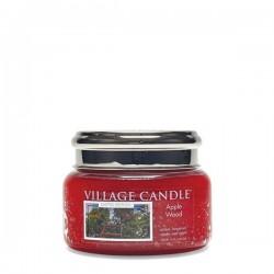 Candela in giara di vetro Village Candle - Apple Wood S