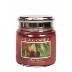 Candela in giara di vetro Village Candle - Black Cherry M