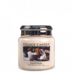 Candela in giara di vetro Village Candle - Coconut Vanilla M