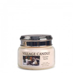 Candela in giara di vetro Village Candle - Coconut Vanilla S