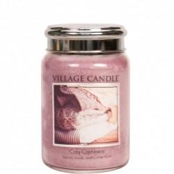 Candela in giara di vetro Village Candle - Cozy Cashmere L