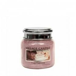 Candela in giara di vetro Village Candle - Cozy Cashmere M