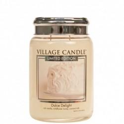Candela in giara di vetro Village Candle - Dolce Delight L