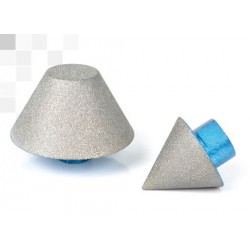 Fresa conica diamantata per svasatura - ø0-35mm