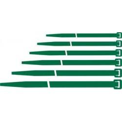 Fascette di cablaggio Maurer nylon 140x3,6mm verde conf. 100pz