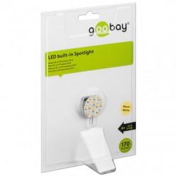 Lampada 12 LED SMD G4 5050 2W 170 Lm Bianco Caldo, Classe A+