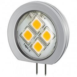 Lampada 4LED SMD G4 5050 2W 190 Lumen Bianco Caldo, Classe A++