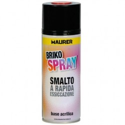 Smalto Briko Spray tinte RAL 8017 marrone