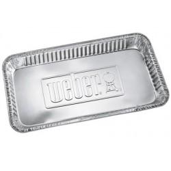 Vaschetta lunga in alluminio Weber per barbecue a carbone ø57cm