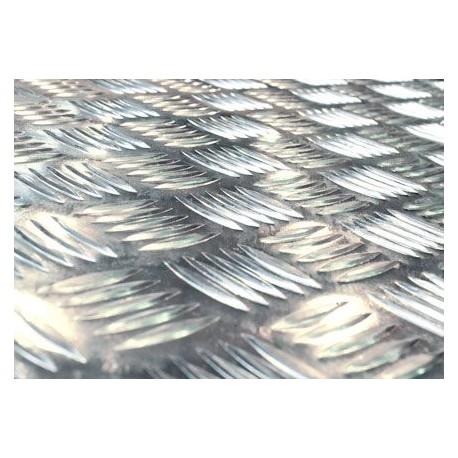 Lamiera Bugnata Mandorlata In Alluminio Dalle Dimensioni Di 125x250cm Spessore 3 2mm