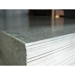 Lamiera zincata in sendzimir dalle dimensioni di 100x200cm, spessore 1mm
