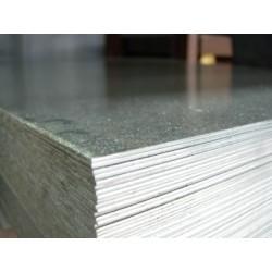 Lamiera zincata in sendzimir dalle dimensioni di 125x250cm, spessore 1,5mm