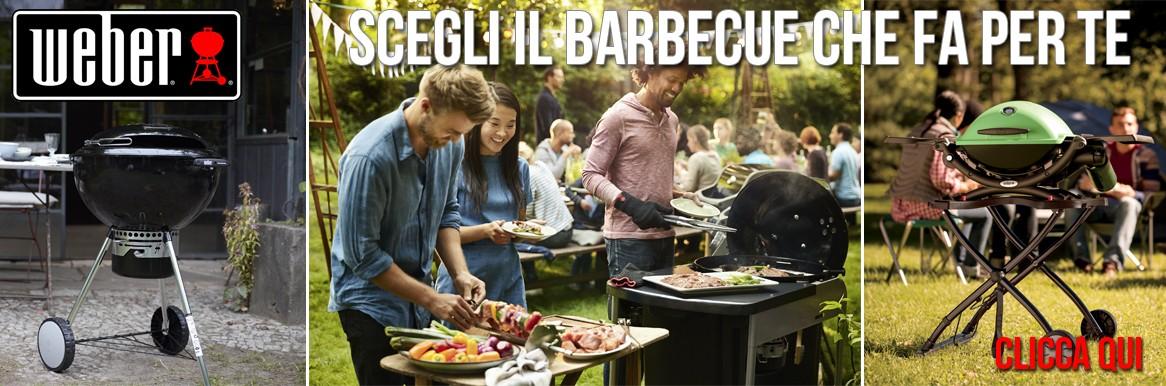 Come scegliere un Barbecue Weber